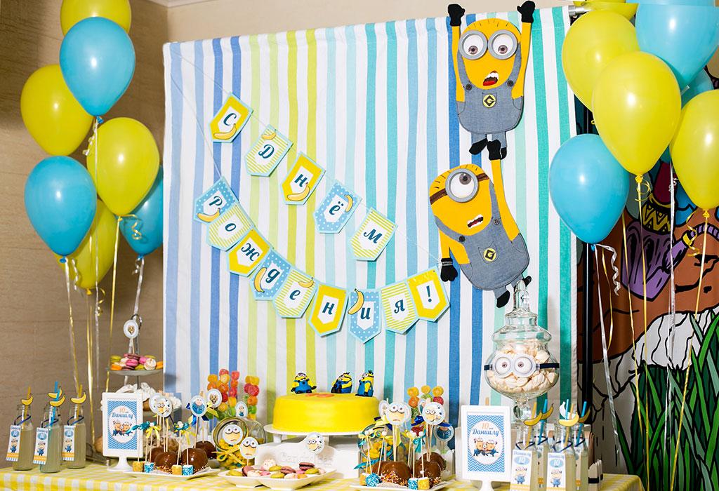 Фото украшений для детского дня рождения