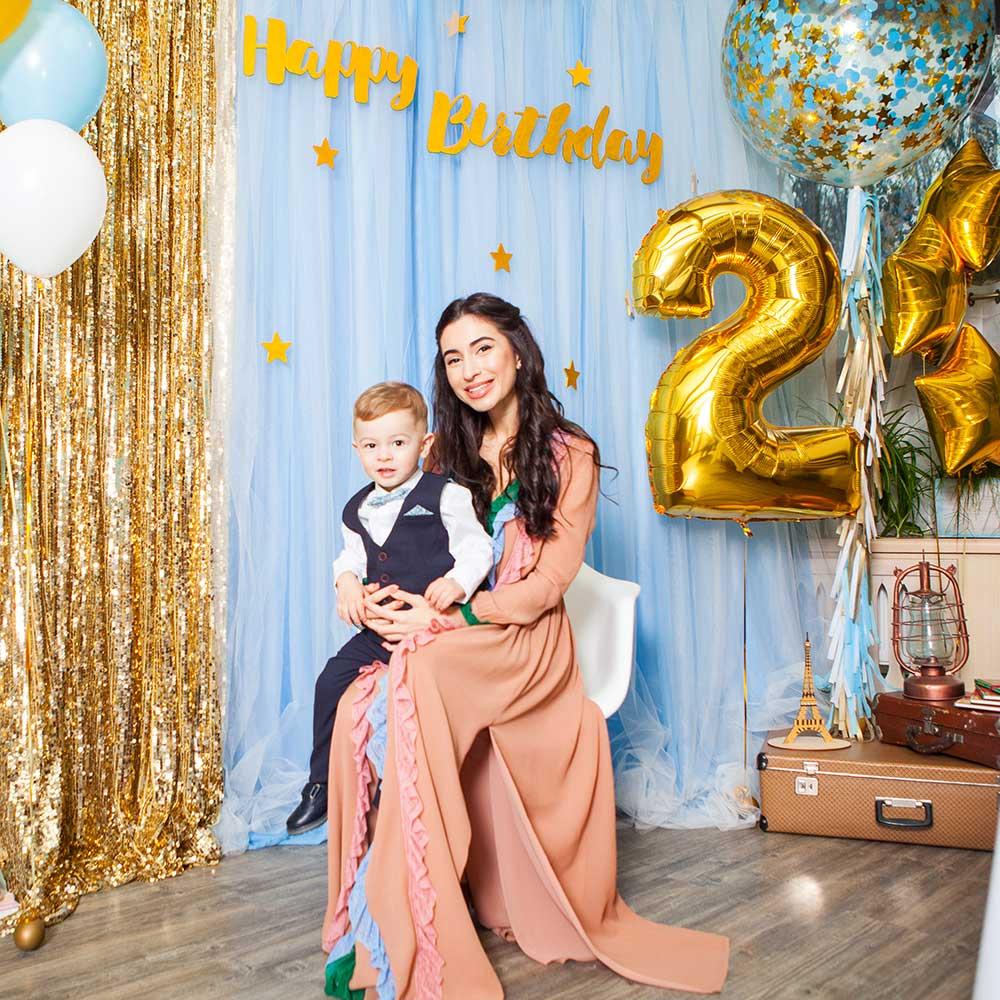Фотозона 🎁 🎈 Детский день рождения «Маленький Принц» в кафе «Мансарда» 🎀 🎉 аренда в Киеве