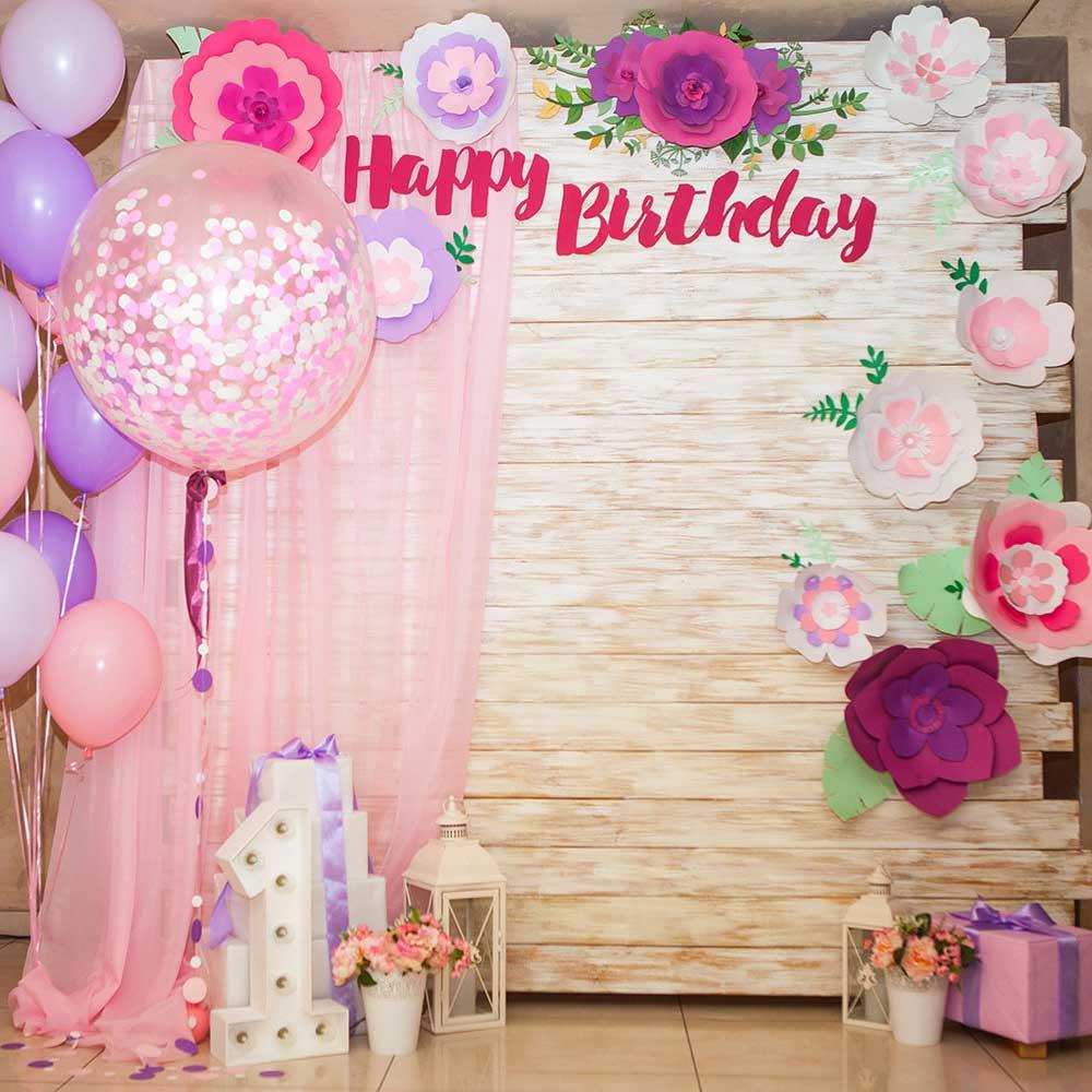Фотозона к дню рождения