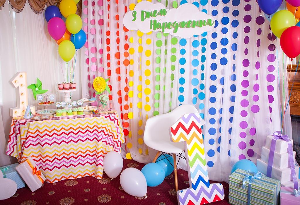фотозона на детском празднике