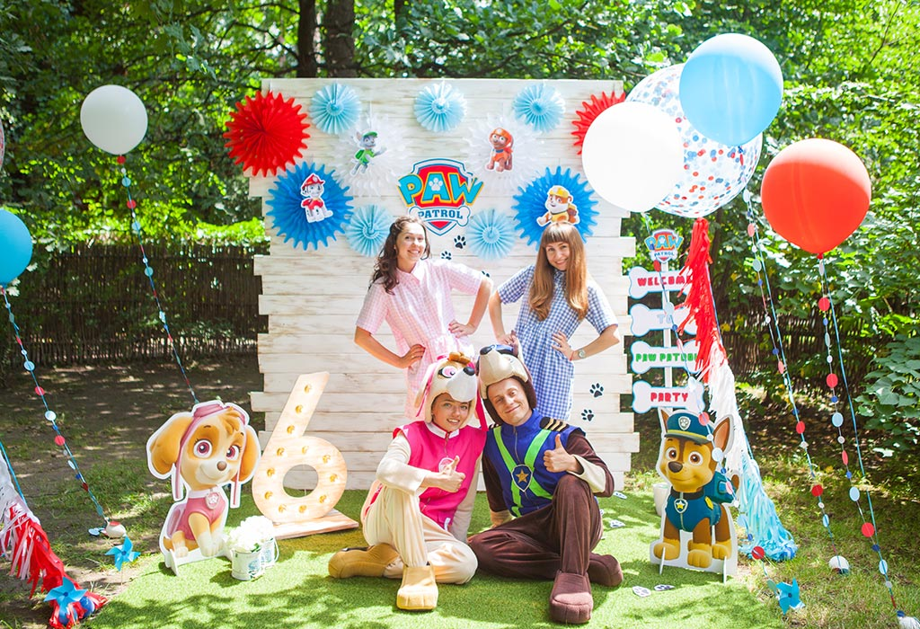 Фотозона для детского дня рождения на природе своими руками 64
