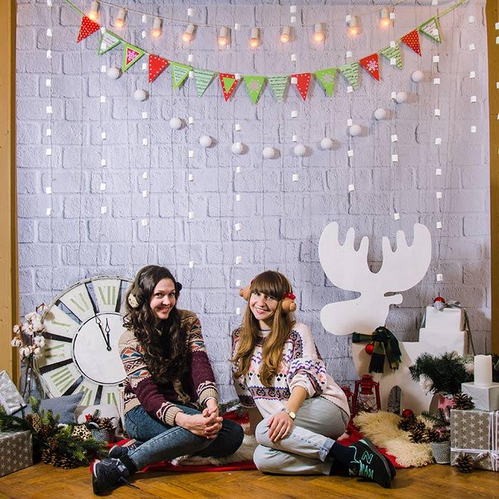 Фотозона 🎄 Зимняя фотозона на Новый Год 🎄 аренда в Киеве