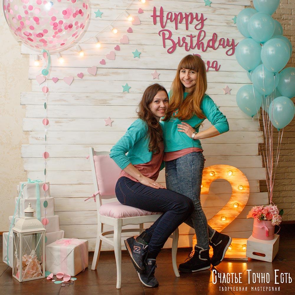 Фотозона 🎂 Мятно-розовая фотозона для девочки в ресторане Лавена 🍭 аренда в Киеве