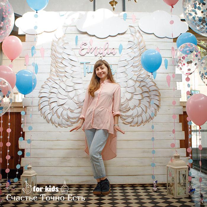 Фотозона 🎈👼 Фотозона на крестины в ресторане Вилла Ривьера 🎀🎈 аренда в Киеве