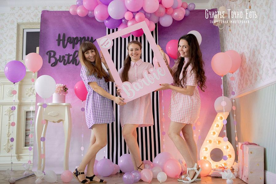 Фотозона 👧 Фотозона Барби для девочки 👧 аренда в Киеве