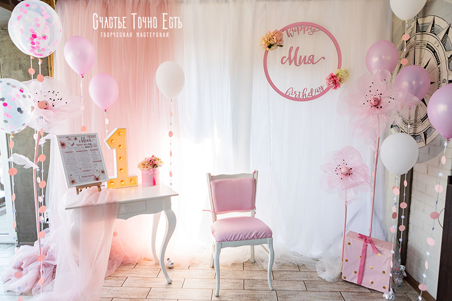 Фотозона Розовая фотозона для девочки с цветами ручной работы🌸 аренда в Киеве
