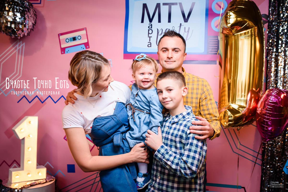 Фотозона 📀 Фотозона в стиле Диско 📼🎸 аренда в Киеве