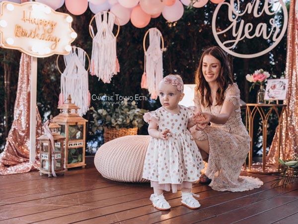 Фотозона Фотозона Бохо на годик девочке аренда в Киеве