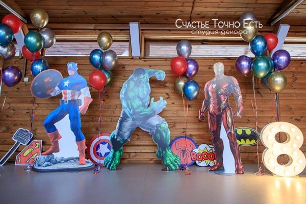 Фотозона 🦸♂️ Фотозона Супергерои на детский праздник 🦸 аренда в Киеве